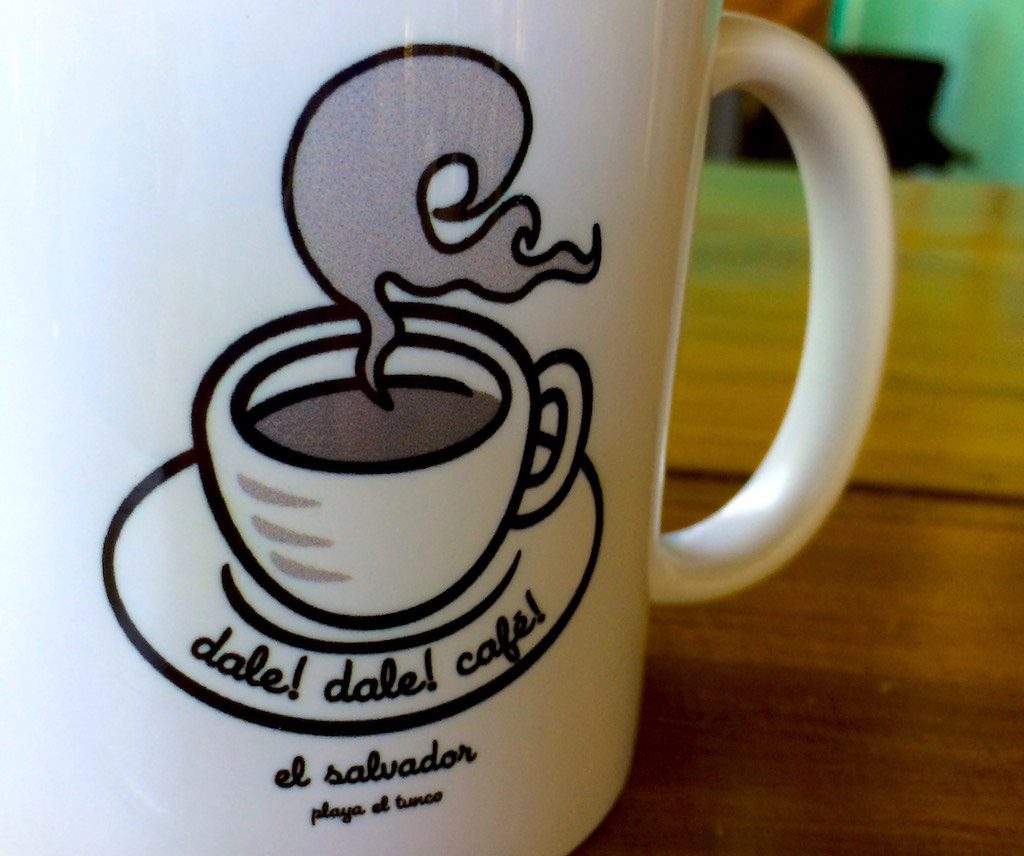 Das dale!dale!cafe! in El Tunco