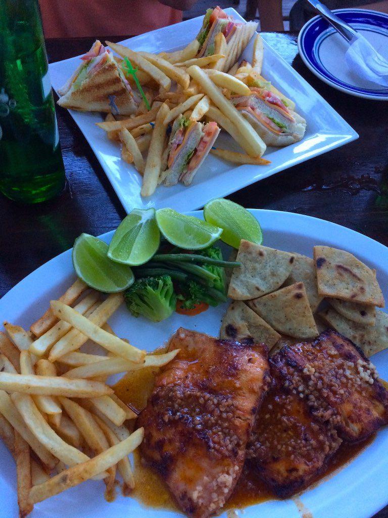 Der Fisch im Casa Miramar war richtig lecker!