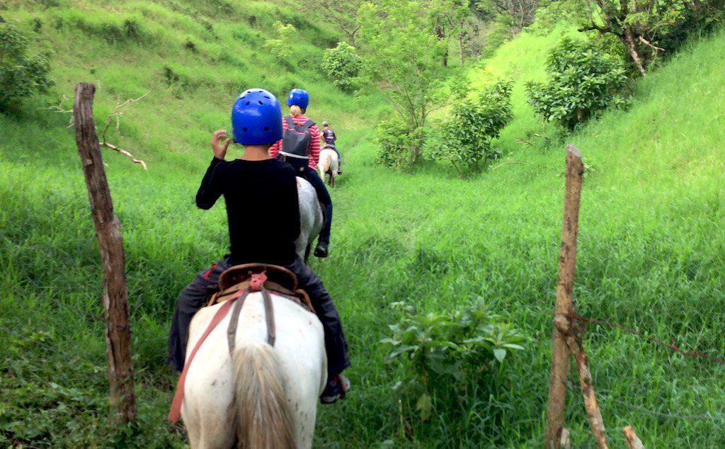 Auch die Kinder kamen gut mit ihren Pferden zurecht.