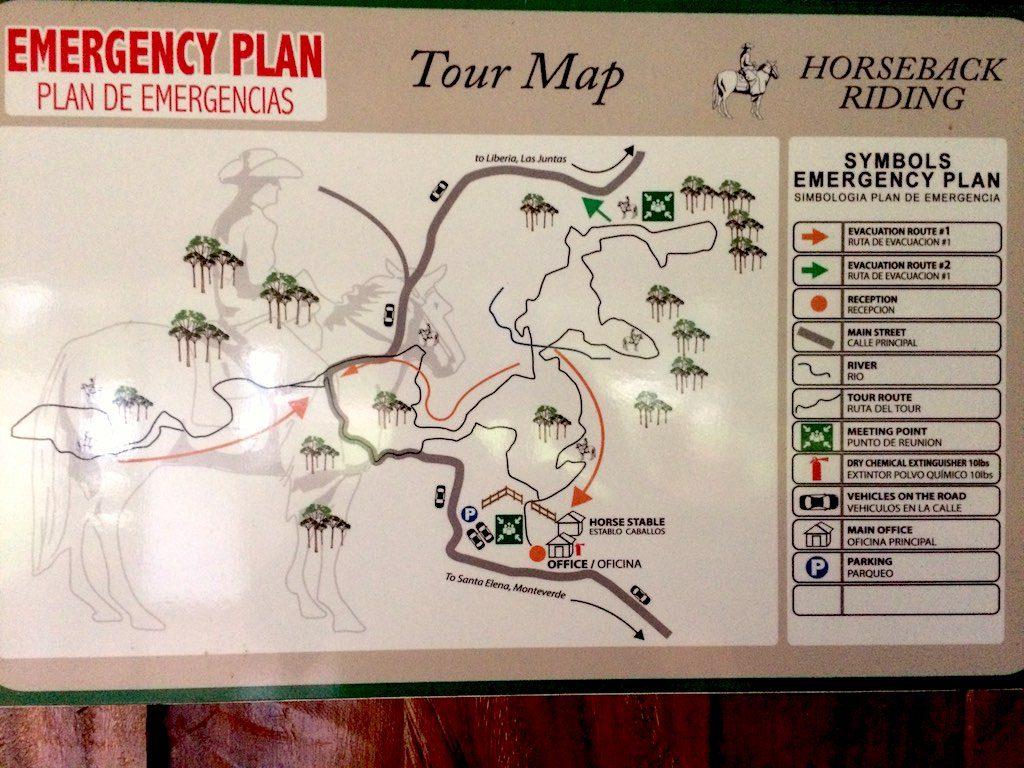 Die Route über die zwei Fincas ist perfekt gewählt.