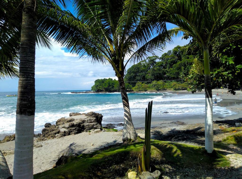Strand in Montezuma, Costa Rica