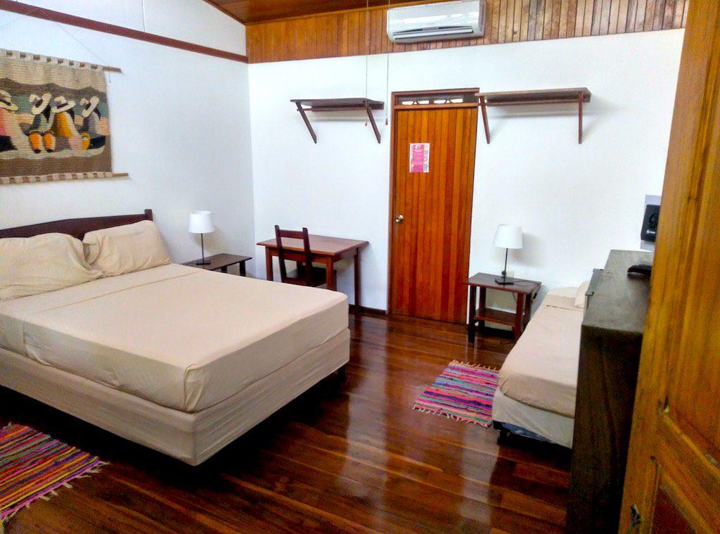 Die Zimmer im Casa Verde. Komfortabel und - vor allem - super sauber.