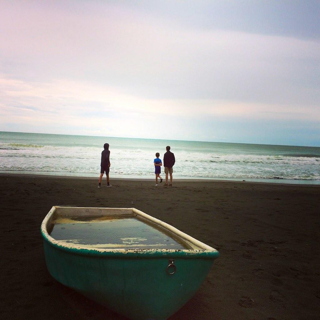Regenzeit an der Playa Negra in Puerto Viejo de Talamanca.