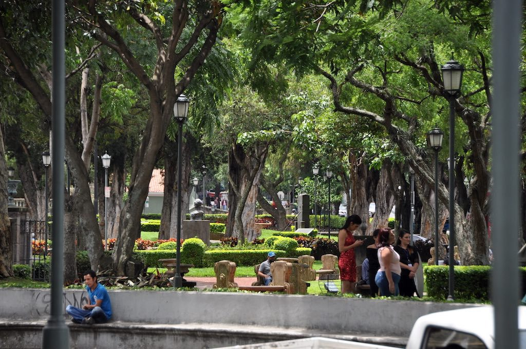 Der Parque Morazán in San José.