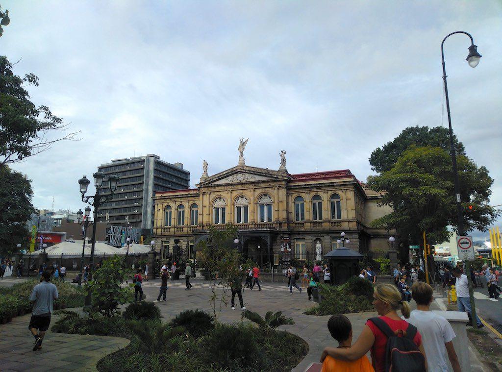Das Nationaltheater Costa Ricas