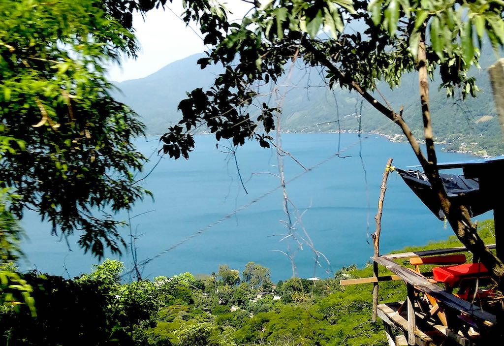 Wir ließen den wunderbaren Lago de Coatepeque hinter uns und machten uns auf nach San Salvador.