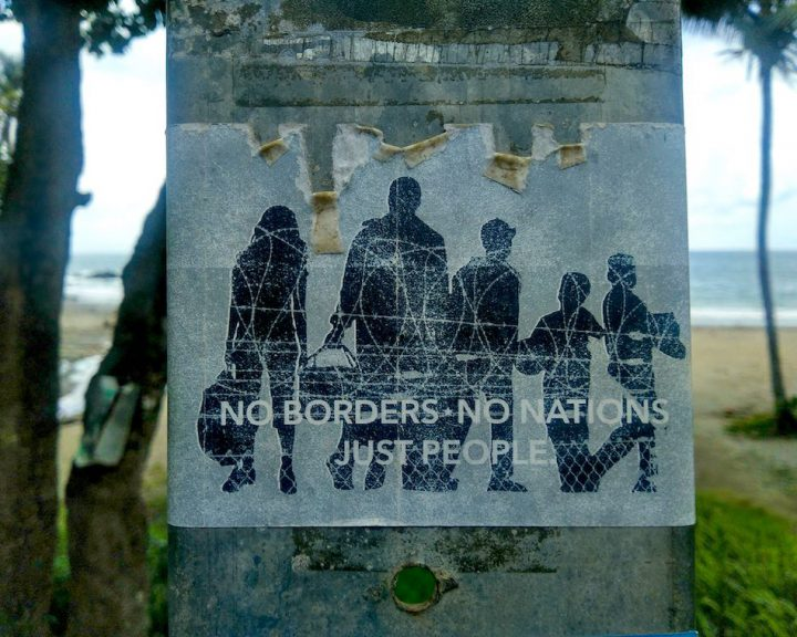 """""""No borders, no nations, just people"""": eine Erkenntnis unserer Reise."""