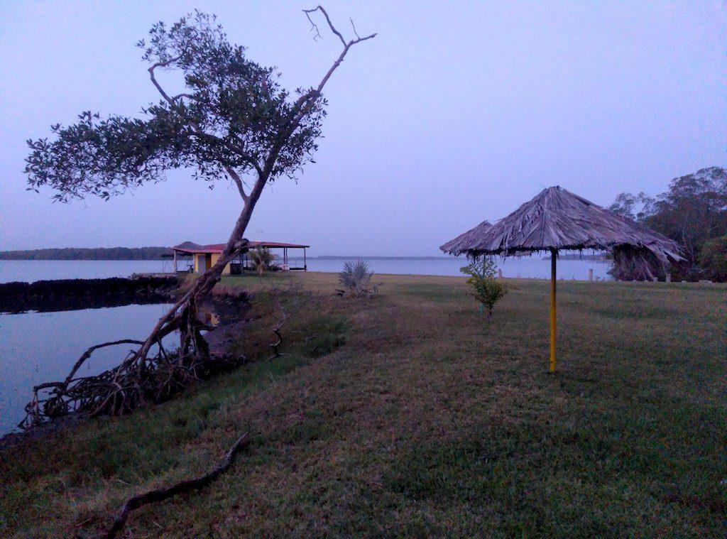 Blick auf die Bahía de Jiquilisco.